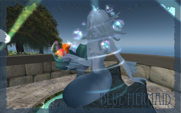 Blue Mermaid Web 4