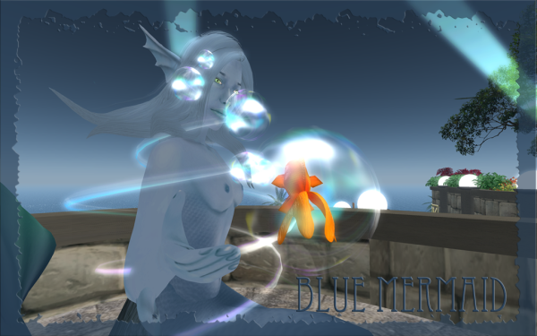 Blue Mermaid Web 5