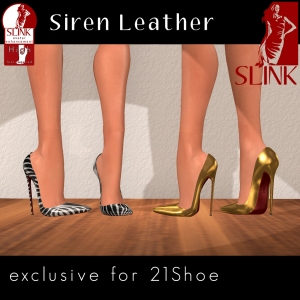 Siren Leather 21 Shoe Exclusive