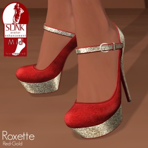 Slink - Roxette Red-Gold