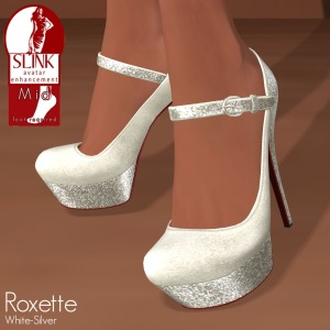 Slink - Roxette White-Silver