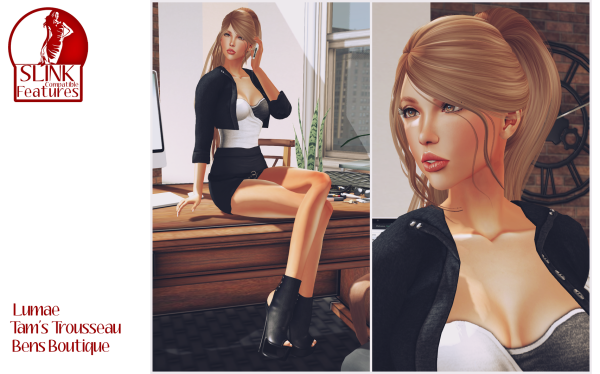 Slink Compatible Feature - Lumae, Tam's Trousseau, Bens Boutique