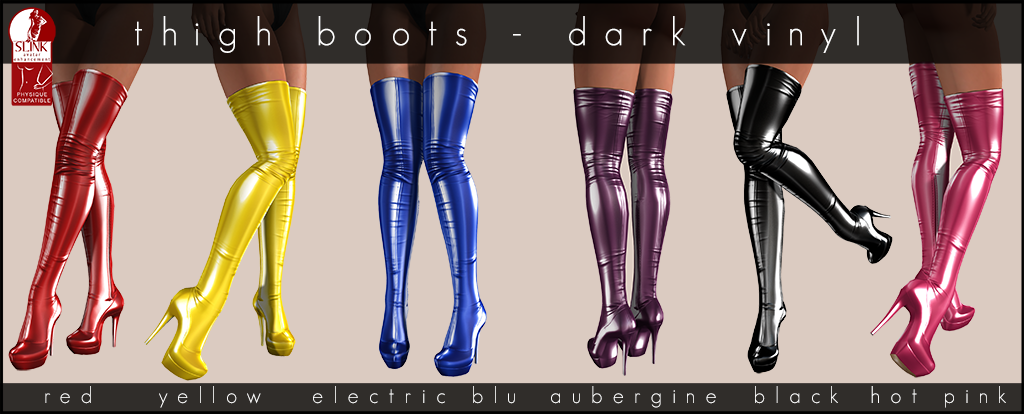 Thighboots Dark Vinyl